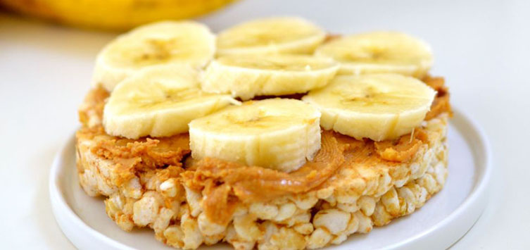 Peanut Butter With Rice Cakes