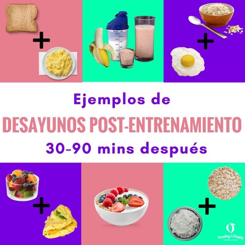 Qu puedo comer despu s de hacer ejercicio healthy happyft for Sugerencias para hacer de comer