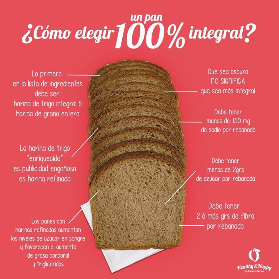 harina de trigo 100 integral